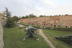 War museum in Kalemegdan fortress, Belgrade, Serbia Royalty Free Stock Images