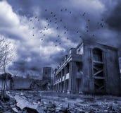 War. Next terrible war in cities royalty free stock photo