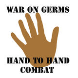 War On Germs Stock Photography