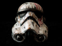 War Painted Storm Trooper Royalty Free Stock Image