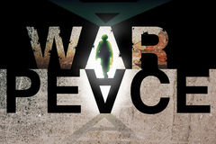 War and Peace concept Royalty Free Stock Photography
