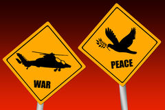 War and peace Stock Image