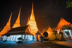 War Pho,  Bangkok, Thailandia. Royalty Free Stock Image
