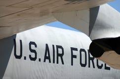 War Plane. A photograph taken of a war plane Royalty Free Stock Photo