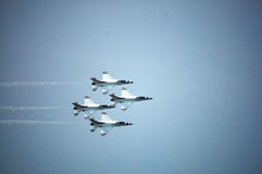 War Plane Show at Thailand Royalty Free Stock Photography