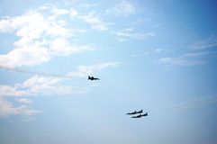 War Plane Show at Thailand Royalty Free Stock Photo