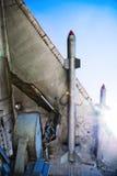 War-plane wing Stock Photos