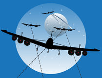 War planes Royalty Free Stock Photo