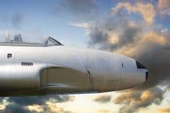 War propeller fighter plane Royalty Free Stock Photos
