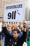War protest Stock Photography