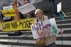 War protest Stock Images