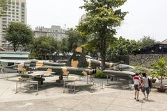 War Remnants Museum in Ho Chi Minh, Vietnam Stock Images