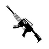 War rifle for soldiers navy tool Stock Photo