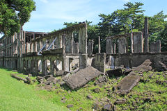 War Ruins - Barracks Stock Image