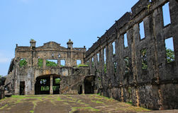 War Ruins - Interior royalty free stock photography