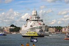 War Ship Stock Image