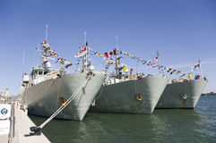 War Ships Stock Photos