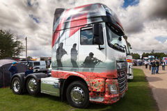 War soldiers truck decay at Truckfest 2017 Stock Photo
