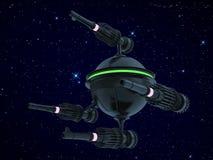 War spaceship Royalty Free Stock Image