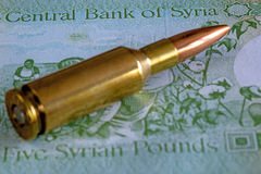 War in Syria Royalty Free Stock Images