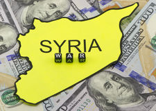 The war in Syria Stock Photography