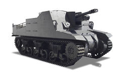 War tank. A war tank isolated in white background Stock Images