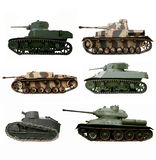 War tanks Stock Images
