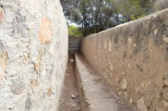 War Trench - Fighting Spanish Civil War Trenches Royalty Free Stock Images
