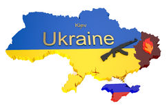 War in Ukraine 4 Royalty Free Stock Photo