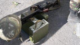 The war in Ukraine stock footage