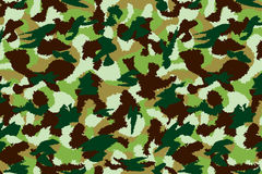 War universal nature camouflage seamless pattern Stock Photos