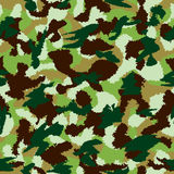 War universal nature camouflage seamless vector pattern Royalty Free Stock Image