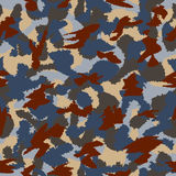 War universal urban camouflage seamless vector pattern Royalty Free Stock Photography