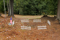 American Veteran Grave Stock Photo
