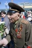 War veteran man portrait. Stock Photography