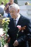 War veteran man portrait. Royalty Free Stock Photo
