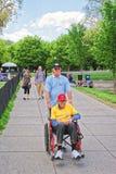 War Veteran in National Mall in Washington DC Stock Photos