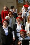 War veterans group portrait. Stock Images