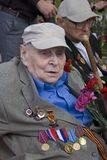 War veterans men portrait. Stock Photos