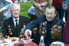 War veterans men portrait. Royalty Free Stock Image