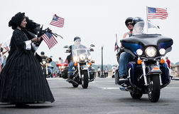 War Widows At Rolling Thunder 2011 Stock Photo