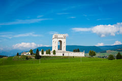 War world one memorial in asiago, italy Stock Photos