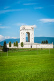 War world one memorial in asiago, italy Stock Photo