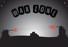 War Zone Royalty Free Stock Images