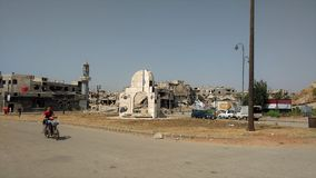 City of homs after war Royalty Free Stock Photography