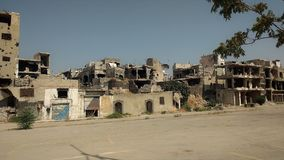 City of homs after war Stock Image