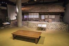 Warabekan leksakmuseum i Tottori Japan 1 arkivbilder