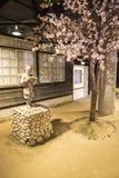 Warabekan leksakmuseum i Tottori Japan 1 arkivfoton