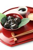 Warabimochi, japanese dessert Royalty Free Stock Images