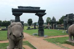 Warangal fort Royaltyfri Bild